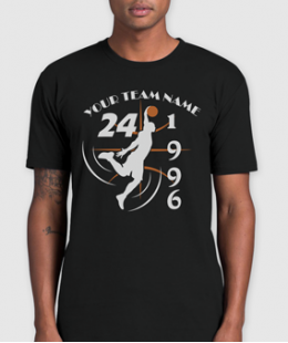 SLAM IT LIKE KB! -BASKETBALL CUSTOM T-SHIRT