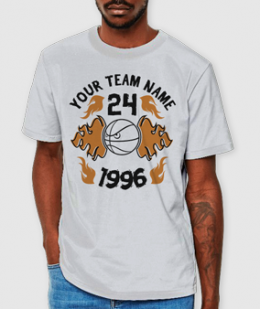 STARE ON & GAME ON! -BASKETBALL CUSTOM TEE