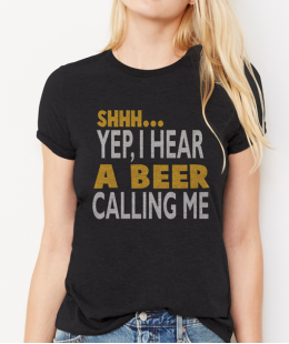 You had a Beer calling? Shhh..